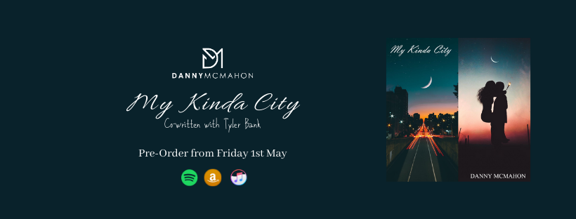 Introducing, Music & Memories, UK, country, singer-songwriter, Danny McMahon, single release cover, single release work, music blog