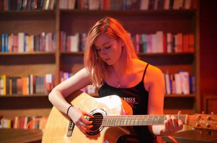 Introducing, Music & Memories, USA, multi-genre, singer-songwriter, Claire Beverly, music blog, Amber Eyes, Review