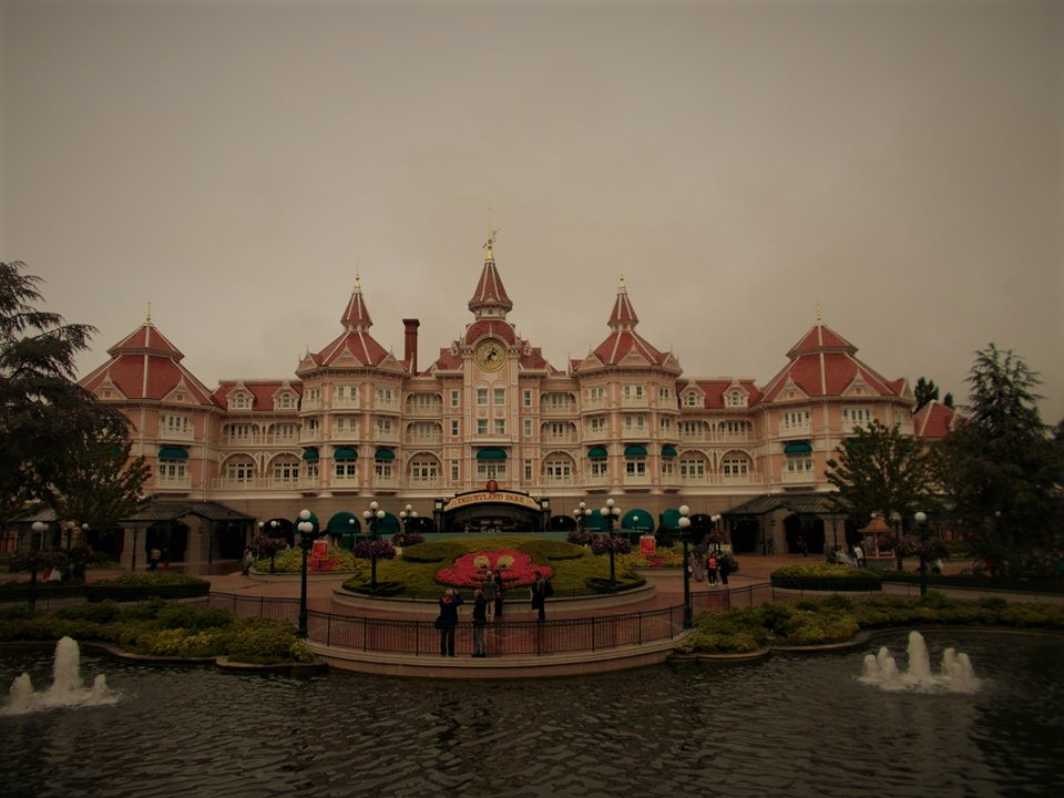 Disneyland Paris Hotel; smaller crowds mean shorter queues, most of the time