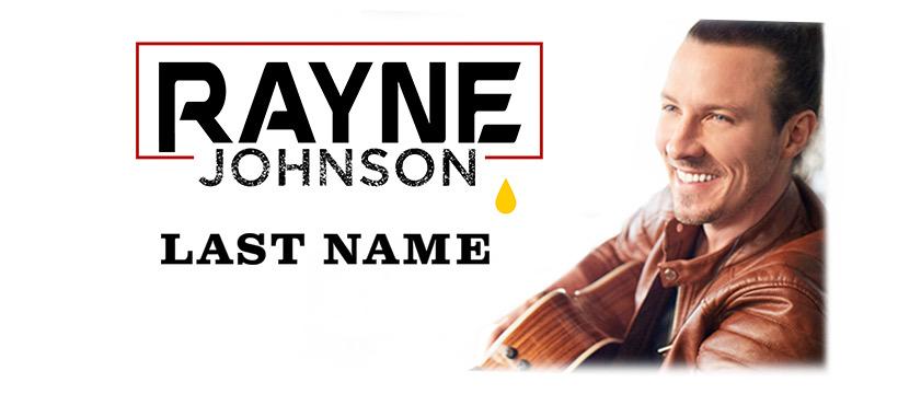 Rayne Johnson, US country music artist